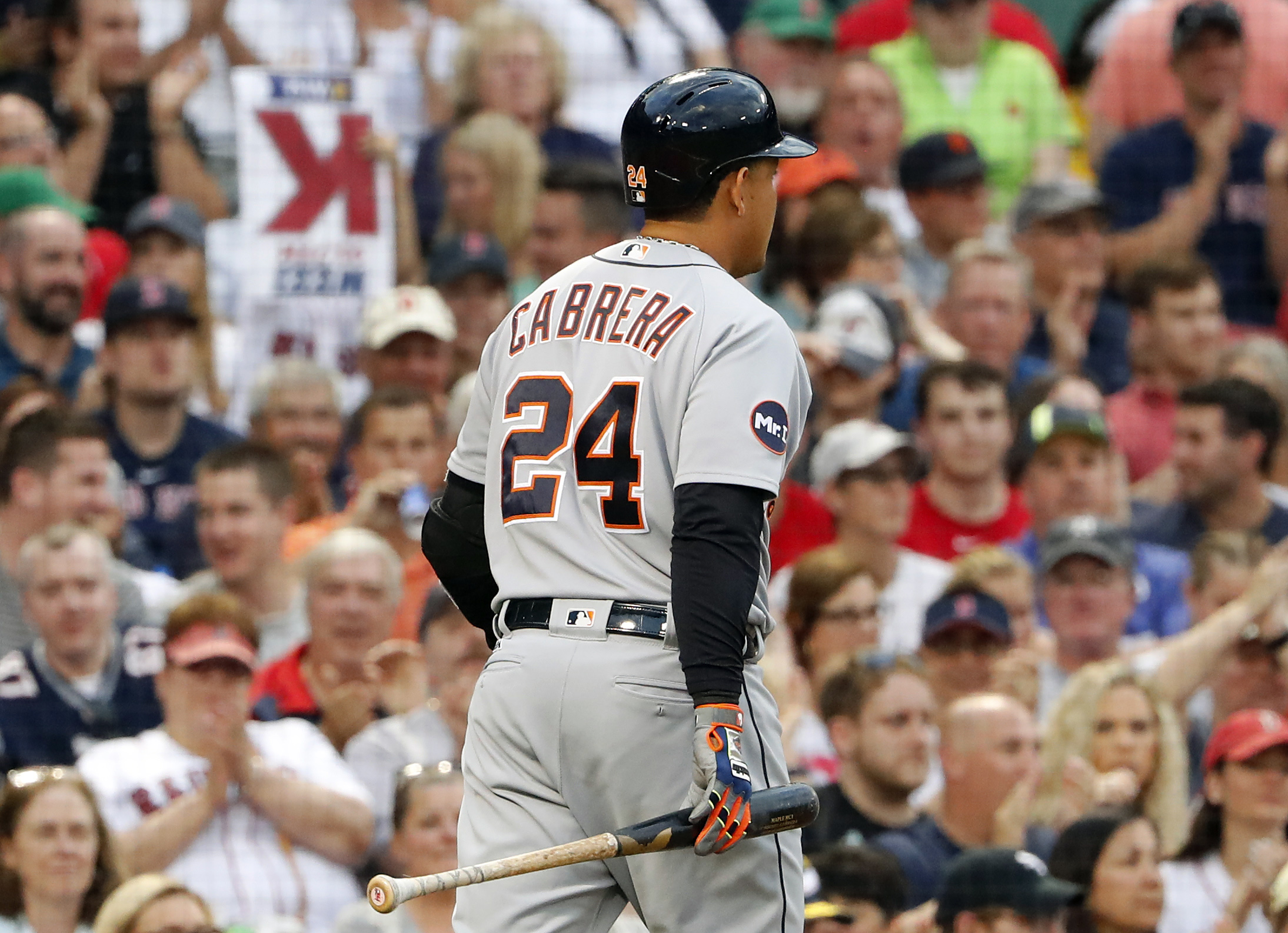 Nfl expected to consider future sunday night playoff games espn - Jun 10 2017 Boston Ma Usa Detroit Tigers First Baseman Miguel Cabrera 24 Heads Back To The Dugout After Striking Out Looking Against The Boston Red